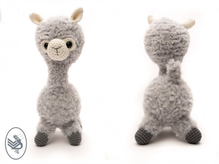 Think You Can Resist This Adorable Amigurumi Alpaca Family? Get ... | 533x710