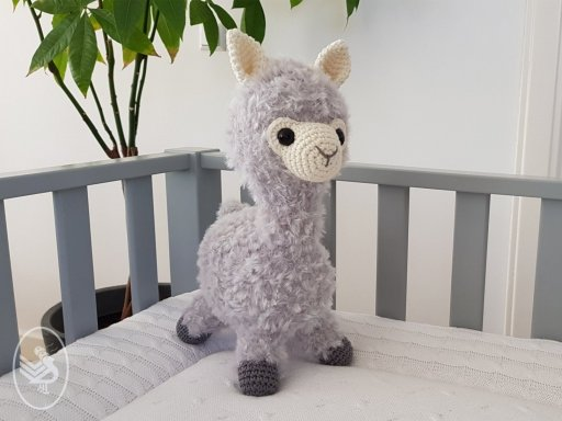 Ravelry: Alonzo the Alpaca Amigurumi pattern by Kamidake Fiber Arts | 384x512