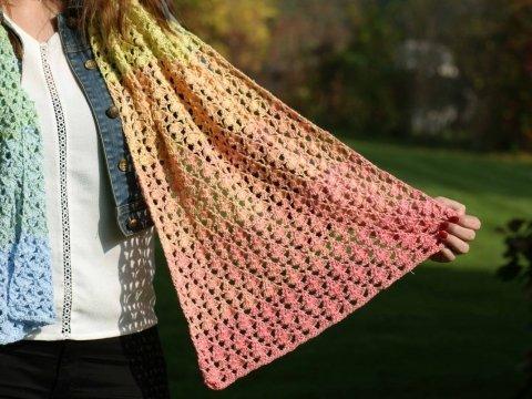 Unicorn Sjaal Colourful Glam Durable